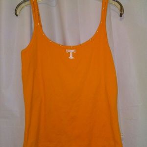 Crystal accent Tennessee tank top